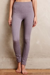Anthropologie Fleece Lined Leggings Sky