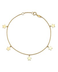 Moon And Meadow Star Charm Bracelet In 14K Yellow Gold 100 Exclusive
