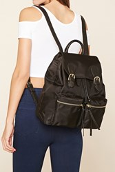 Forever 21 Unstructured Nylon Backpack