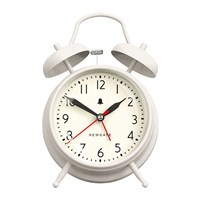Newgate The New Covent Garden Alarm Clock Linen White