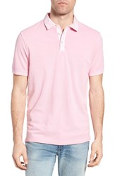 True Grit Men's Pique Polo Soft Pink
