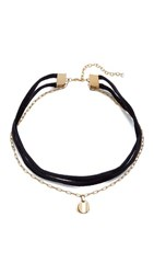 Elizabeth And James Morrow Choker Necklace Gold