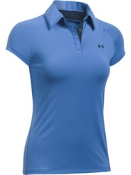 Under Armour Zinger Upf Polo Blue