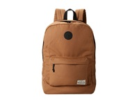 Quiksilver Tracker Canvas Backpack Peanuts Backpack Bags Beige