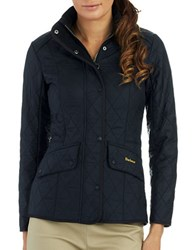 Barbour Calvalry Polarquilt Short Coat Black