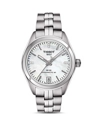 Tissot Pr 100 Powermatic 80 Mother Of Pearl Watch 33Mm White