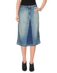 Ck Calvin Klein Denim Denim Skirts Women Blue