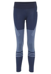 Adidas Performance Tights Tech Ink Collegiate Navy Blue