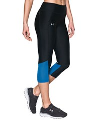 Under Armour Fly By 4 Way Stretch Capri Black
