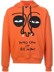 Haculla Who Can It Be Hoodie Yellow