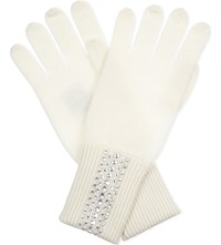 William Sharp Swarovski Cashmere Gloves 1