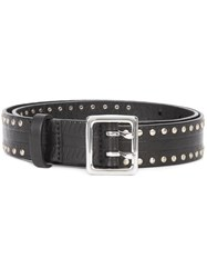 Rag And Bone Studded Belt Black