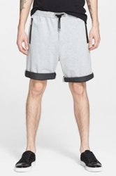 Cnc Costume National Taped Pocket Sweat Shorts Gray