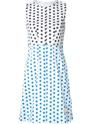 J.W.Anderson J.W. Anderson Polka Dot Panelled Dress White
