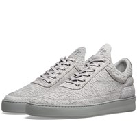 Filling Pieces Low Top Cracked Sneaker Grey