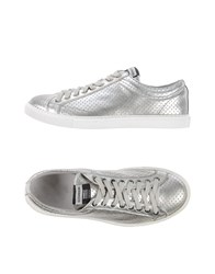 Daniele Alessandrini Footwear Low Tops And Trainers Men Silver