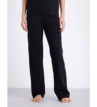 Tommy Hilfiger Iconic Stretch Cotton Pyjama Bottoms Black