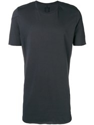 Thom Krom Short Sleeve Fitted T Shirt Grey
