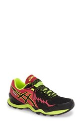 Women's Asics 'Gel Fuji Endurance' Trail Running Shoe Black Onyx Azalea