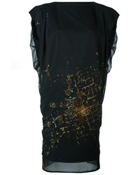 Minimarket 'Zany' Dress Black