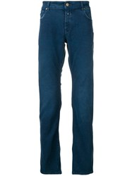 Closed Regular Trousers Blue