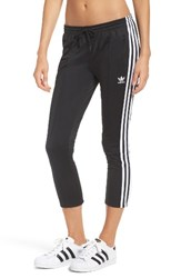 Adidas Women's Originals Crop 3 Stripe Sweatpants