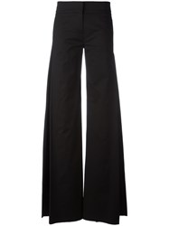 Io Ivana Omazic Elongated Palazzo Trousers Black