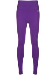 Monreal London Hi Tech Seamless Leggings Purple