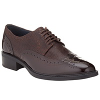 Alice By Temperley Somerset By Alice Temperley Forton Patent Leather Brogues Brown