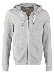 Tom Tailor Denim Tracksuit Top Melange Light Grey