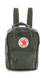 Fjall Raven Fjallraven Kanken Mini Backpack Forest Green