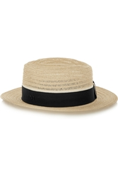 Maison Michel Andre Straw Trilby
