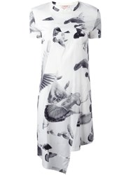 A.F.Vandevorst 'Fonder' Dress Women Silk Lyocell 38 White