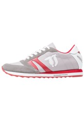 Trussardi Jeans Trainers Grey Red