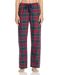 Ralph Lauren Plaid Flannel Pajama Pants Plaid Red Green Blue