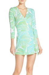 Women's Lilly Pulitzer 'Karlie' Print Wrap Romper