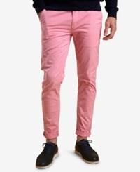 Barbour Men's Neuston Slim Fit Stretch Light Pink Chinos Lt Paspink