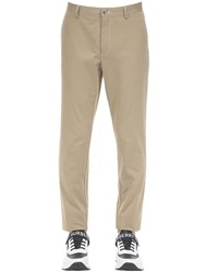 Burberry Cotton Canvas Chino Pants Honey