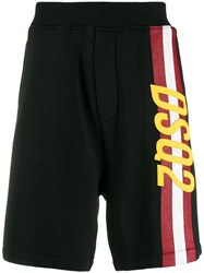 Dsquared2 Logo And Stripe Track Shorts 60