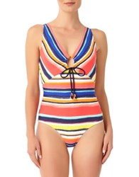 Anne Cole One Piece Multicolored Swimsuit