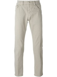 Dondup Classic Slim Jeans Nude And Neutrals