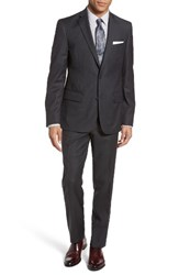 Nordstrom Men's Men's Shop Trim Fit Stripe Wool Suit