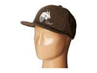 Coal The Wilderness Olive Goat Baseball Caps Brown