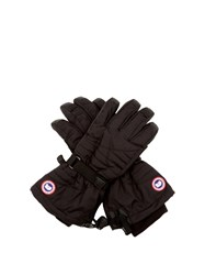 Canada Goose Arctic Quilted Gloves Black