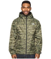 The North Face Millerton Jacket Thyme Tigrid Camo Men's Coat Green