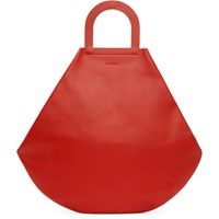 Building Block Ssense Exclusive Red Stencil Tote