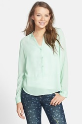 Frenchi Long Sleeve Top Juniors Green