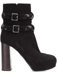 Ritch Erani Nyfc Braided Strap Boots Black