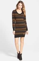 Element 'Artisan' Sweater Dress Black