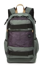 Rvca Push Skate Delux Backpack Grey